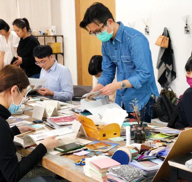 台北的CMF趨勢預測工作坊